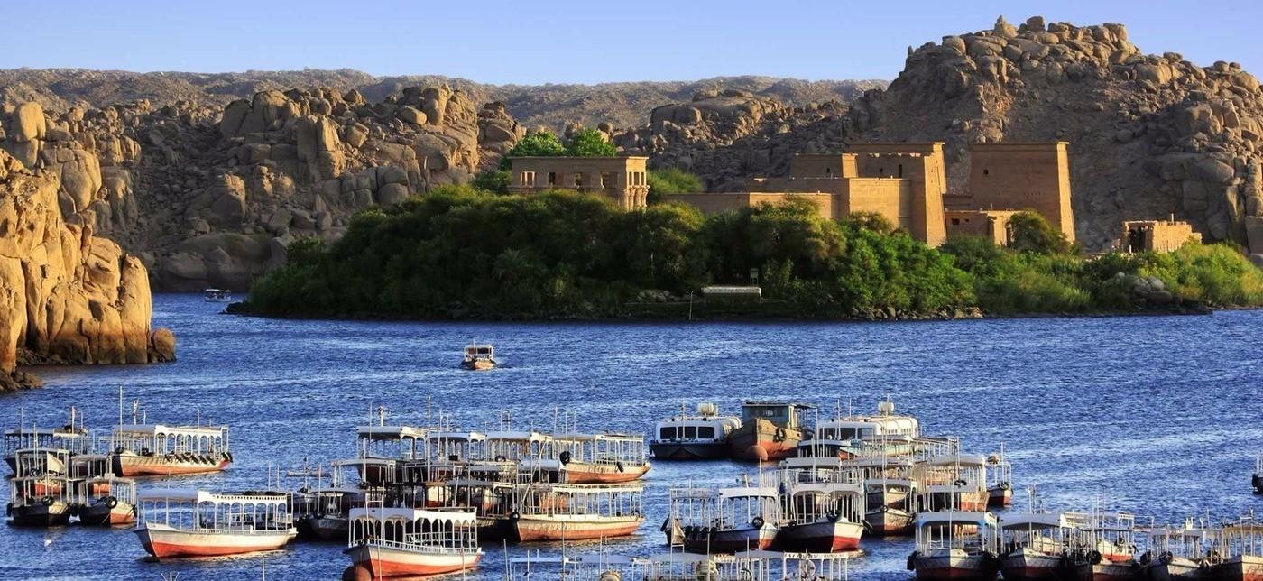 Výlet Asuán a Edfu z Hurghaday